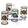 Mok Mexico set van 4