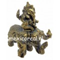 Lord Ganesha metalen sculptuur